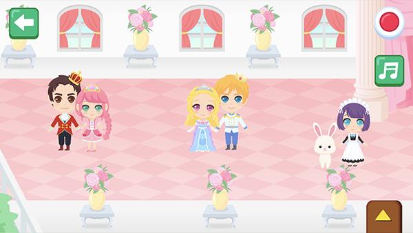 おはなしメーカーに「キラキラ!プリンス&プリンセス」パックを追加