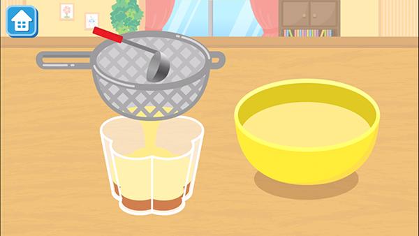 ワオっち!シリーズの大人気キッズ料理アプリ『はらぺこクッキング』に、新レシピ「プリン・ア・ラ・モード」が登場しました。