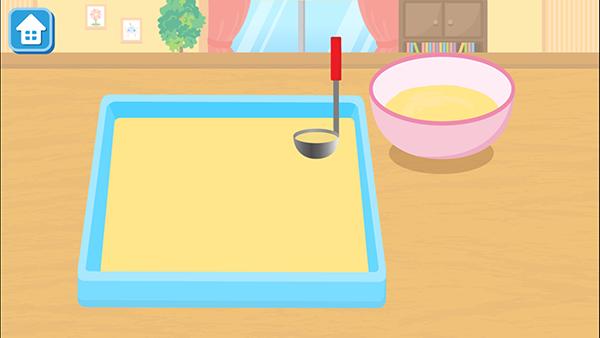 キッズ料理アプリ『はらぺこクッキング』に新レシピ「ロールケーキ」が登場!